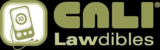 CALI Lawdibles Logo